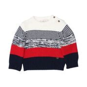 Fox & Finch Greenwich Mix Pattern Knit Jumper