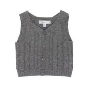 BEBE Edmond Cable Knit Vest