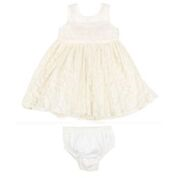Bebe SO Lace Tulle Dress with Bow
