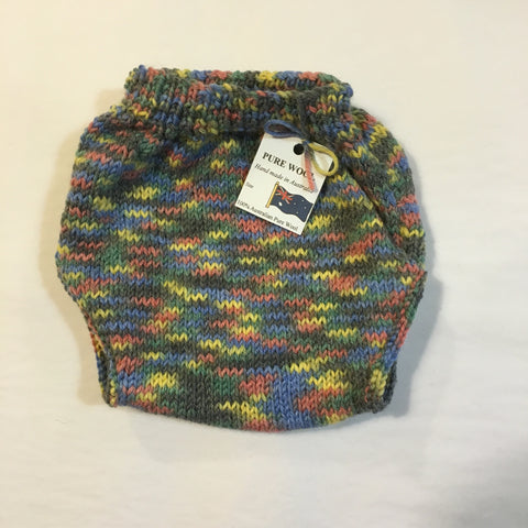 Handmade Multi Coloured Knitted Pants - RedHill Childrenswear