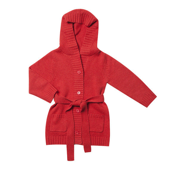 Fox and Finch Pocket Cardigan W Hood - RedHill Childrenswear