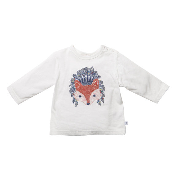Fox and Finch D'Amerique Fox LS Tee - RedHill Childrenswear