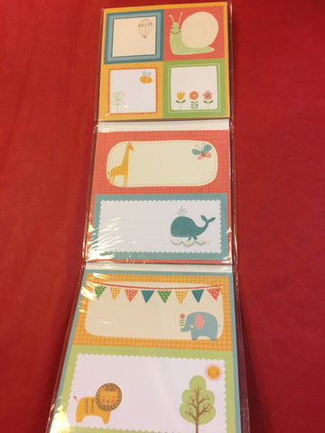 Book of Play Labels - RedHill Childrenswear
