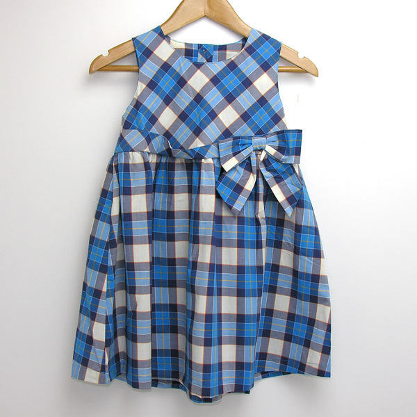 Oshkosh Blue Check Dress - RedHill Childrenswear