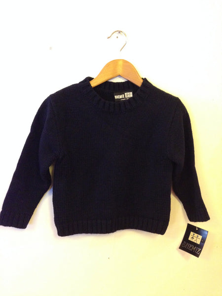 Shemiz Navy Knit Jumper - RedHill Childrenswear