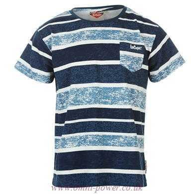 LEE COOPER Bass Print TShirt - RedHill Childrenswear