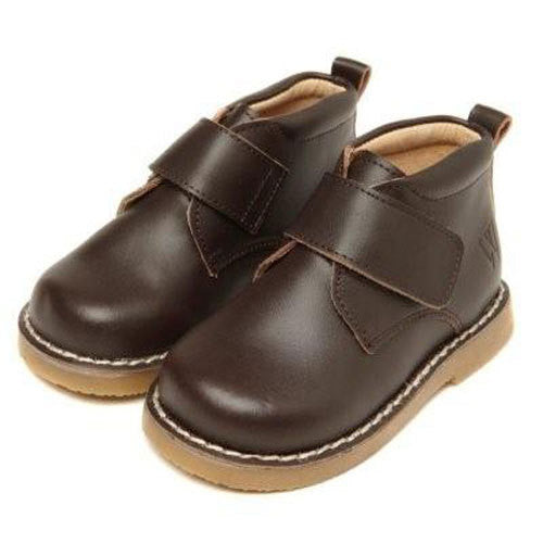 Walnut Velcro Choc Boot - RedHill Childrenswear