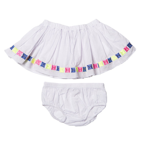 Fox and Finch Mexica Embroidered Skirt - RedHill Childrenswear