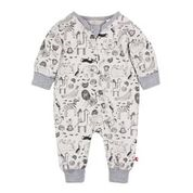Fox & Finch Zoology Print LS Romper