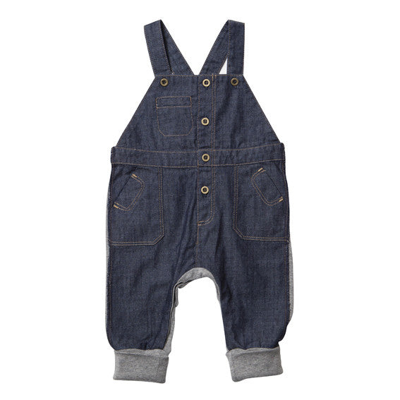 Fox and Finch Denim Mix Overalls - RedHill Childrenswear