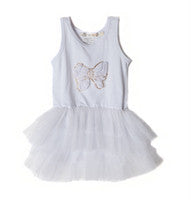 Designer Kidz White Bow Tutu - RedHill Childrenswear