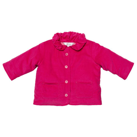 BEBE Hot Pink Padded Cord Jacket - RedHill Childrenswear