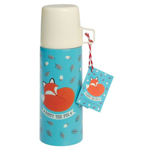 Rusty The Fox Flask n Cup - RedHill Childrenswear