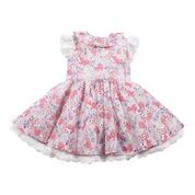 Bebe Bronte Print Frill Dress - RedHill Childrenswear