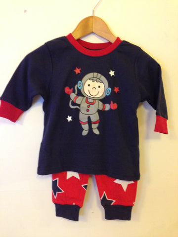 Under Cover Crew JNR Boys Space Walker Pyjamas - RedHill Childrenswear