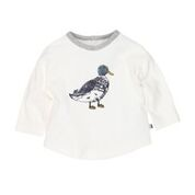 Bebe Mac LS Duck Sketch Tee