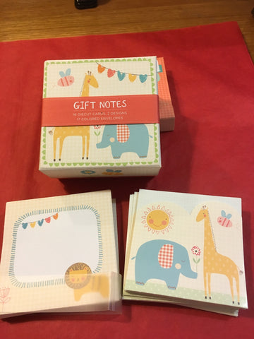 Gift Notes Cards - RedHill Childrenswear