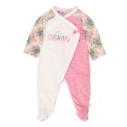 Bebe Ebony LS Wrap Romper - RedHill Childrenswear