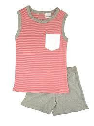 IOU Wear Boys Stripe Singlet Pyjamas - RedHill Childrenswear