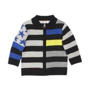 FOX & FINCH Kennedy Stripe Knit Jumper/Cardigan