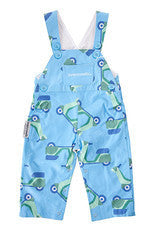 Overcrawls Overalls Blue Scooters - RedHill Childrenswear