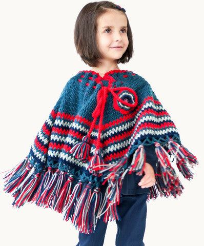 ETERNAL CREATION Winter Reflections Crochet Coat - RedHill Childrenswear