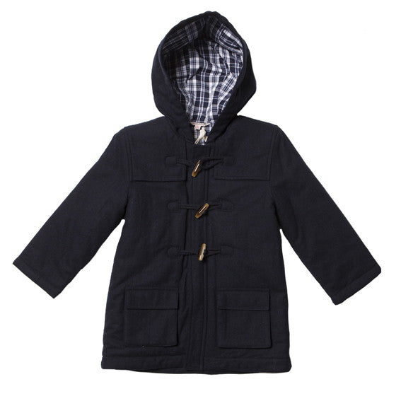 Fox and Finch Boys Woollen Duffel Jacket - RedHill Childrenswear