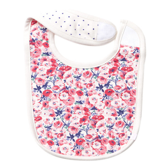 Bebe Penny Reversible Bib - RedHill Childrenswear