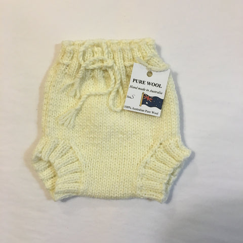 Handmade Cream Knitted Pants - RedHill Childrenswear