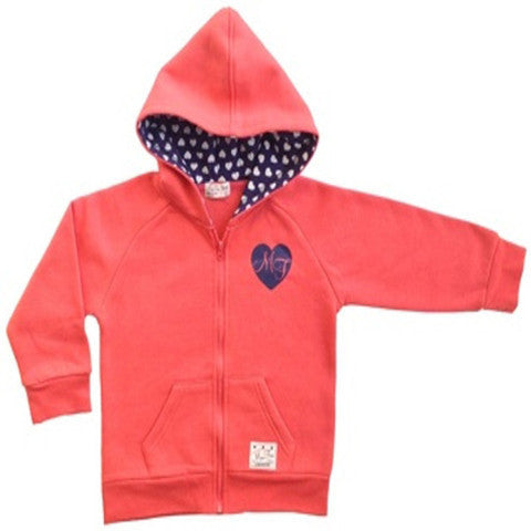 Mini Fin Girls Hoody Jumper - RedHill Childrenswear