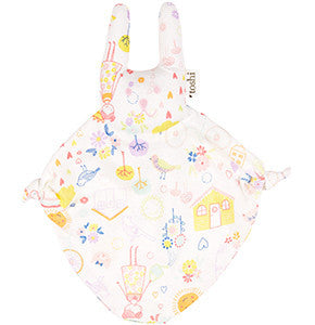 Toshi Baby Bunny Happy Print Comforter - RedHill Childrenswear