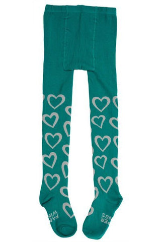 Paper Wings Tiny Hearts Tights