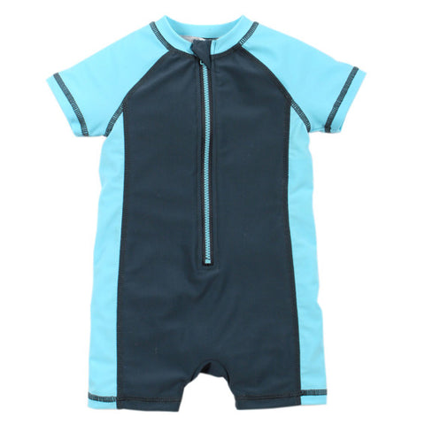BEBE Felix UPF 50+ Zip Front Sunsuit - RedHill Childrenswear