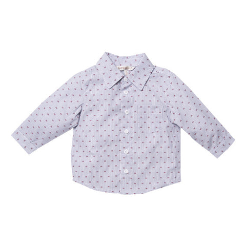 Fox and Finch Milan Striped Shirt - RedHill Childrenswear