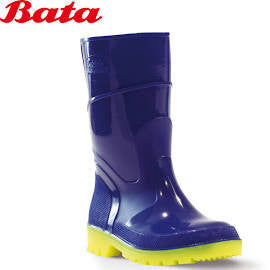 Bata Blue and Yellow Gumboots
