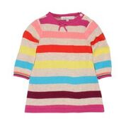 Fox & Finch Oslo LS Stripe Knit Dress
