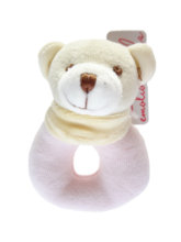 EMOTION & KIDS Pink Bear Velour Rattle - RedHill Childrenswear