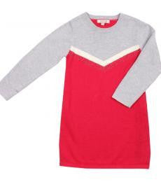 FOX AND FINCH Nova LS Berry Knit Dress - RedHill Childrenswear