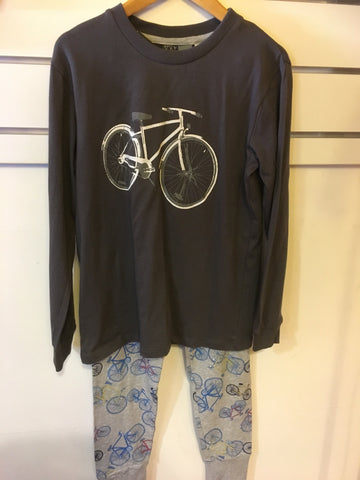 Under Cover Crew Bike Pyjamas