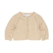 Bebe SO Raglan Gold Lurex Cardigan - RedHill Childrenswear