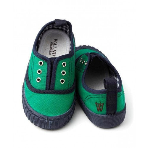 Walnut Apple-Navy Tom Tennis Canvas - RedHill Childrenswear