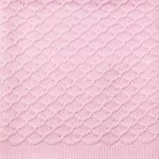 Emotion & Kids Pink Lace Knitted Blanket - RedHill Childrenswear