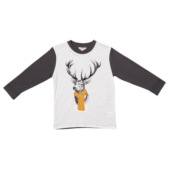 Fox and Finch Nick Deer Tee - RedHill Childrenswear