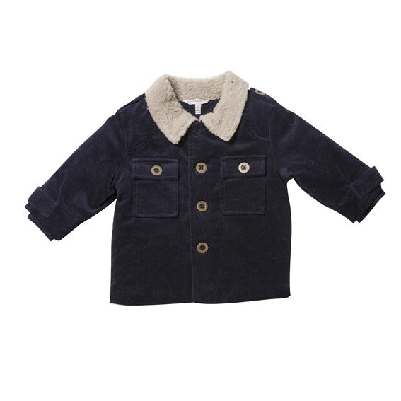FOX AND FINCH Brit Corduroy Jacket - RedHill Childrenswear