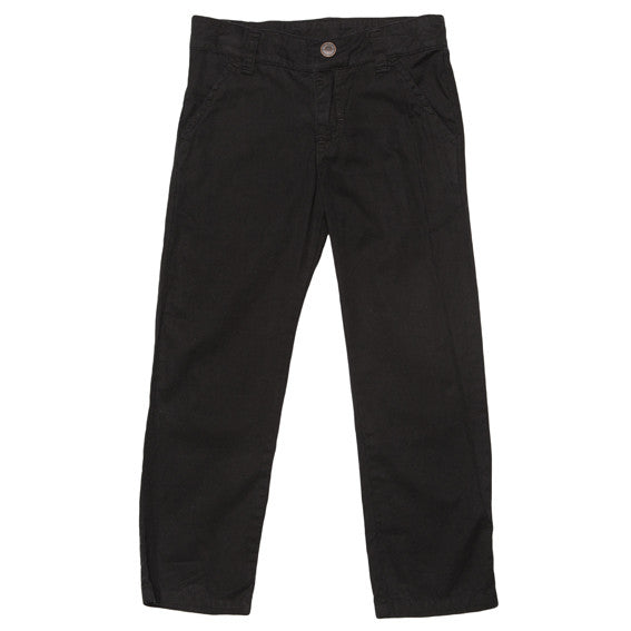 Fox and Finch Dressy Black Chino Pants - RedHill Childrenswear