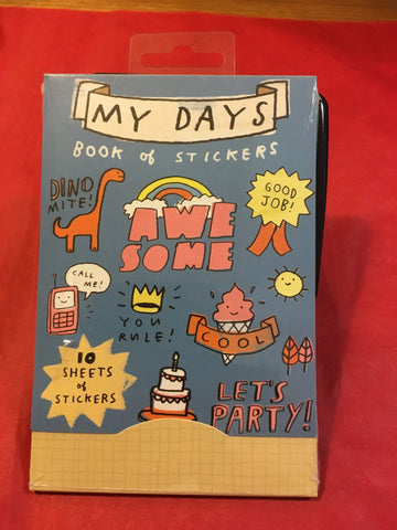 My Days Sticker Book - RedHill Childrenswear