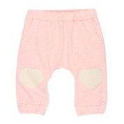 BEBE Chloe Soft Pants with Sherpa Knee Patches