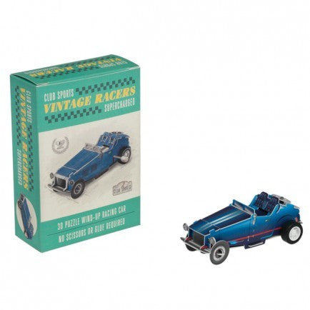 Wind Up Vintage Racing Car - RedHill Childrenswear