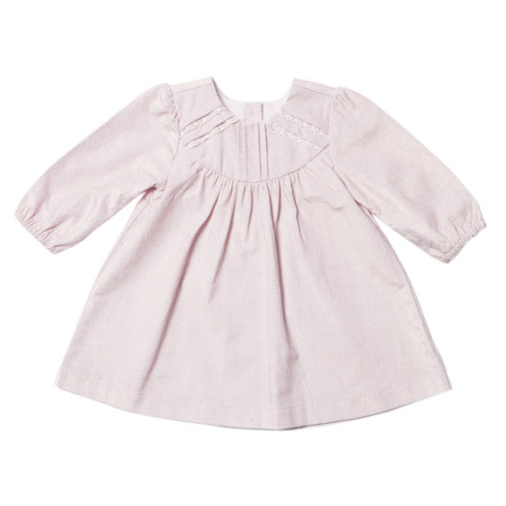 BEBE Layla Lace Trim Dress - RedHill Childrenswear