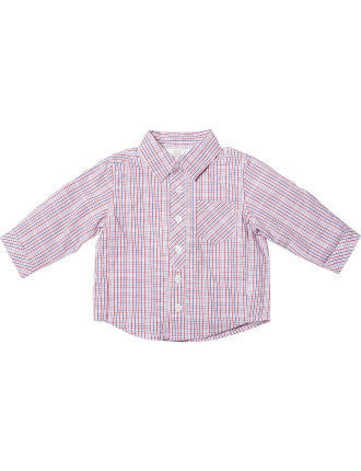 BEBE Joey Check Shirt - RedHill Childrenswear
